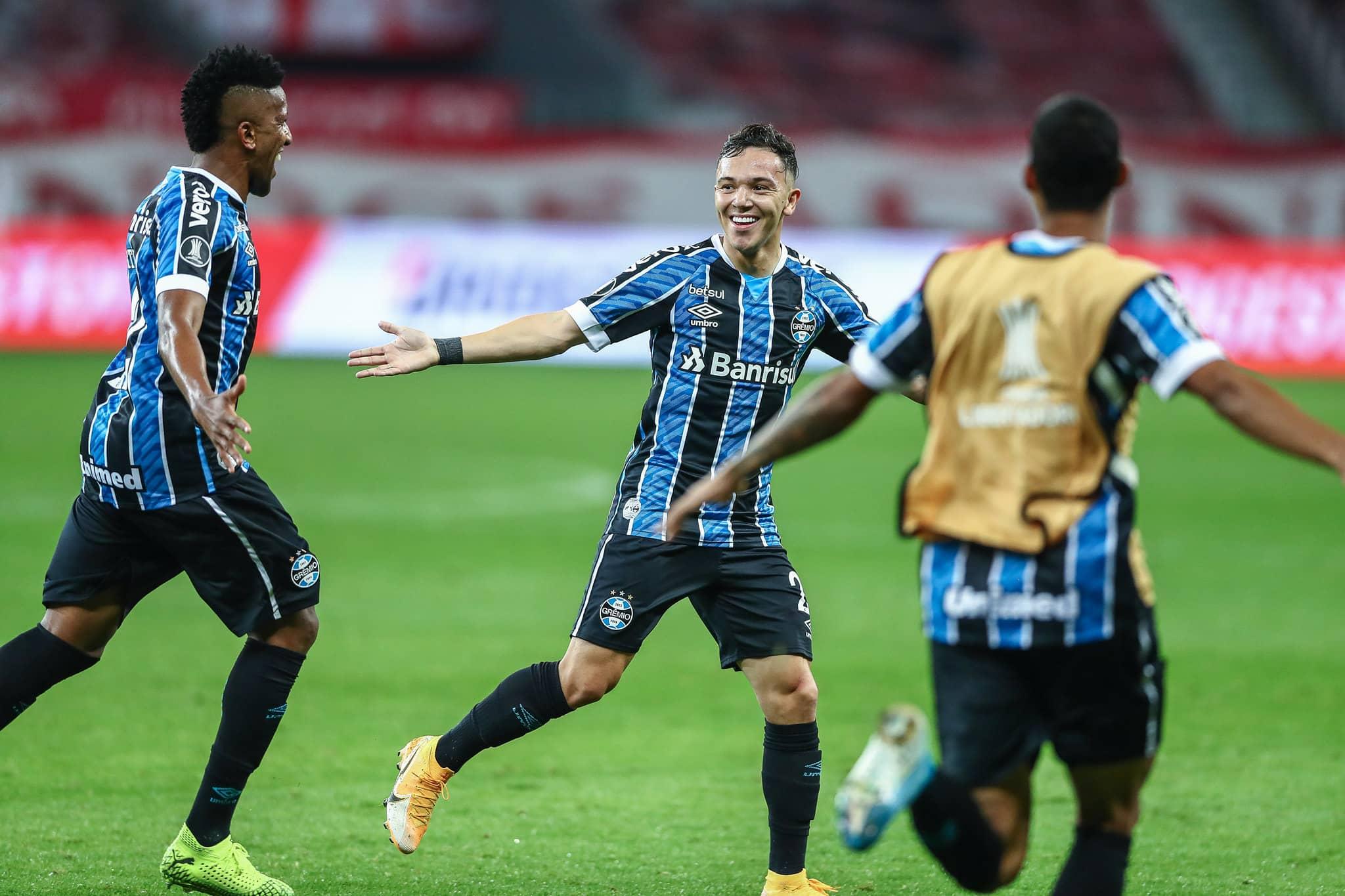 Pepê Grêmio Libertadores